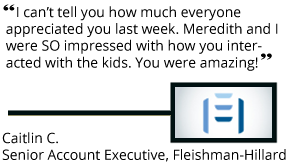 Senior Account Executive at Fleishman-Hillard